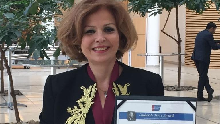 Türk bilim kadınına, Amerika'dan 'Üstün Liderlik' ödülü