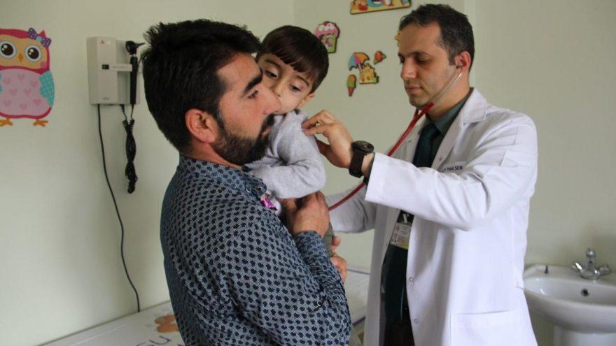 2 yaşındaki Muhammed'in akciğerinden kabak çekirdeği çıktı