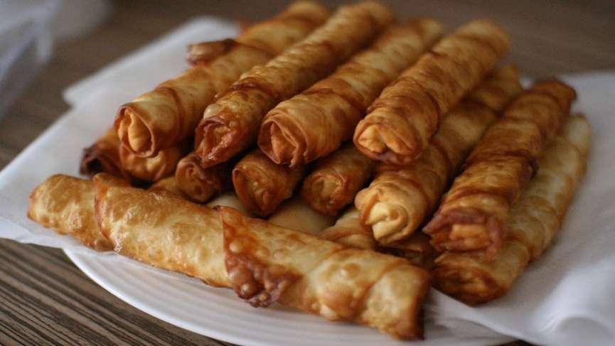 Sigara böreği (rulo börek) tarifi… Peynirli, patatesli, kıymalı sigara böreği nasıl yapılır?
