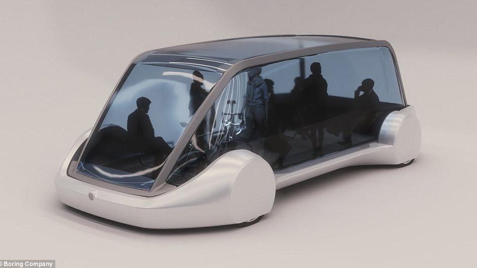 Elon Musk elektrikli otobüsleri yer altına indirecek
