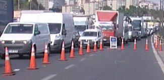 İstanbul trafiği kilit