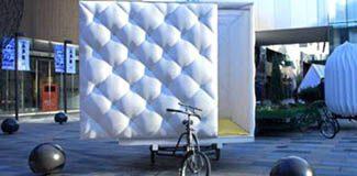 Bisikletle taşınabilen ev