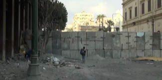Mısırlıların beton blok isyanı!