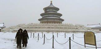 Çin'de hayat durma noktasında