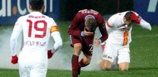 Trabzonspor'a bir maç ceza