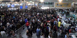 Atatürk Havalimanı'nda büyük kaos!