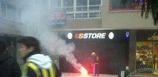 GS Store'a saldırı