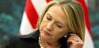 Clinton bayıldı ve şoka girdi