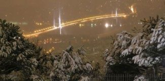 İstanbul'a kar erken geldi