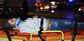 Hastane yolunda gelen ölüm!