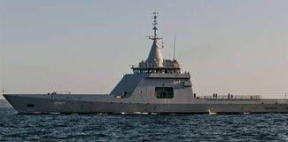 Savaş gemileri Limasol'da