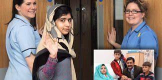 Malala Yusufzay taburcu oldu