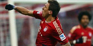 Bayern Mandzukic'le güldü