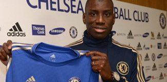 Demba Ba'yı Chelsea kaptı