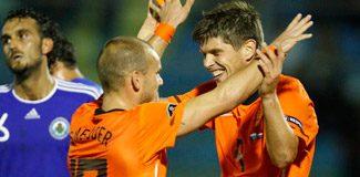 Huntelaar'dan Sneijder yorumu!