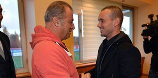 Terim ve Sneijder buluştu!