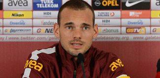 Sneijder G.Saray'ı şaşırttı