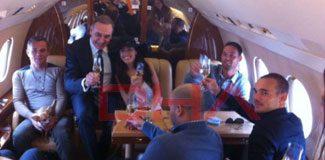 Uçaktan ilk görüntüler!