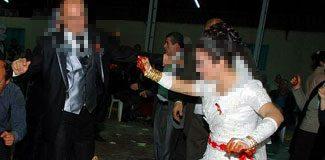 Tecavüzcüsüyle davullu zurnalı düğün yaptı!