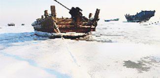 Çin'de 1000 gemi mahsur kaldı!