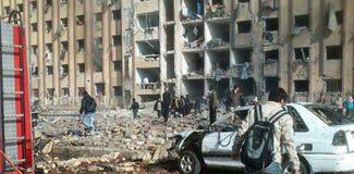 Halep Üniversitesi'ne bombalı saldırı