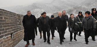 Kılıçdaroğlu Çin Seddi'nde