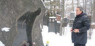 Nazım'ın mezarında…