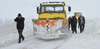 546 köy ulaşıma kapandı