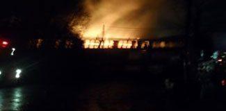 Yalova'da fabrikada yangın