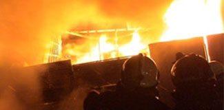 Unakıtan'ın fabrikasında yangın