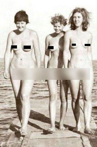 Nackt angela merkel früher Angela Merkel: