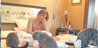 Sezen'in yatak odası