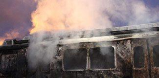 Haydarpaşa'da yangın paniği!