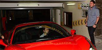 Ferrari bu dolmuş değil