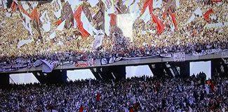 Atatürk Olimpiyat Stadı'nda seyirci rekoru