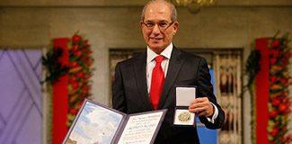 Nobel Barış Ödülü'nü Ahmet Üzümcü aldı