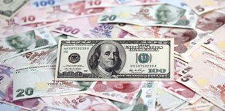 Dolar/TL 2,21 sınırına geriledi