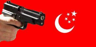 Seçim bürosuna silahlı saldırı