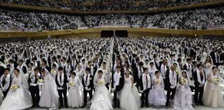 2 bin 500 çift aynı anda evlendi!