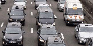 55 bin taksici trafiği felç etti!