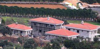 Villaların imarı askıya çıktı