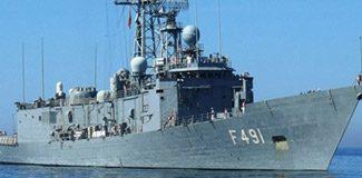 Akdeniz'de Rum gemisine müdahale!