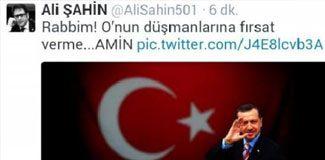 AKP'li vekilden Erdoğan'a dua twiti