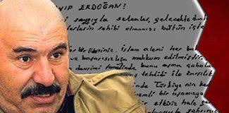 Irak'taki Öcalan'dan Başbakan'a mektup