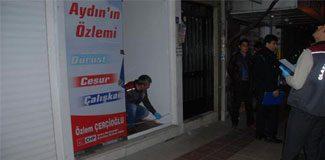 CHP seçim bürosuna saldırı