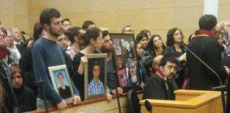 Mehmet Ayvalıtaş davasında arbede