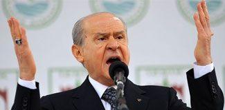 """Bahçeli: """"Her şey Recep Tayyip Erdoğan"""""""