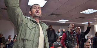 Bakan Cevdet Yılmaz'a şok protesto