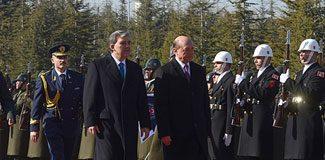 Basescu Çankaya Köşkü'nde