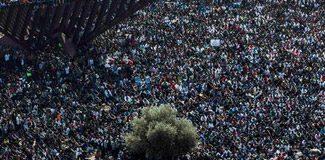 İsrail'de binlerce Afrikalı sokaklarda